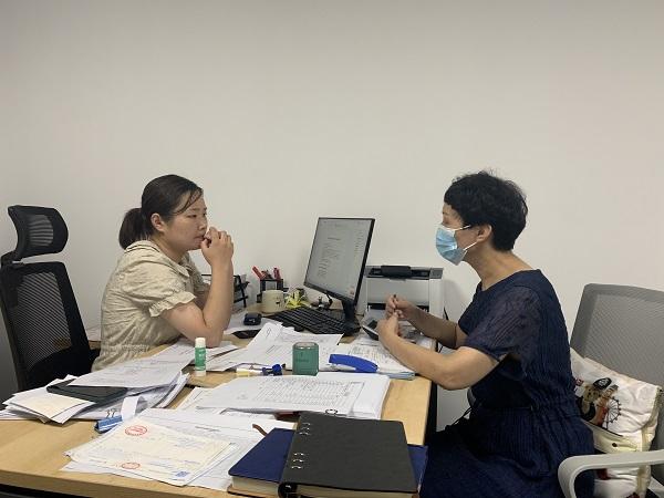 临湖社区:助推企业升规 激发经济活力